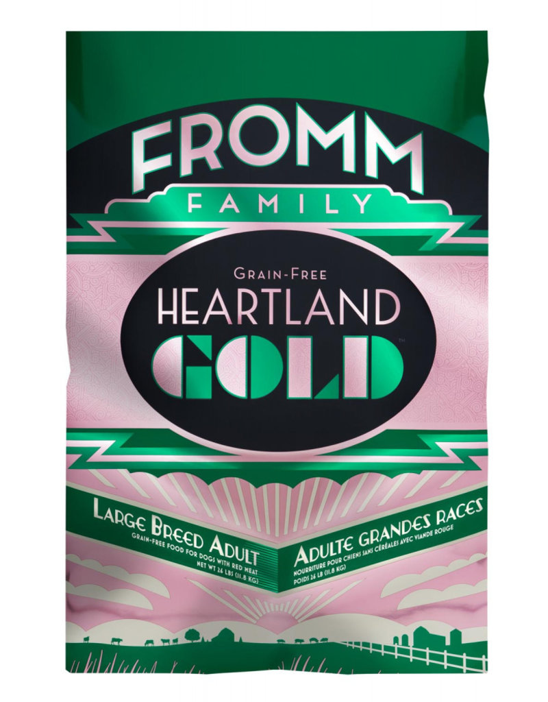FROMM FAMILY FOODS LLC Fromm 26 Lb Dog lg Breed Adult Prairie Gold GF EA