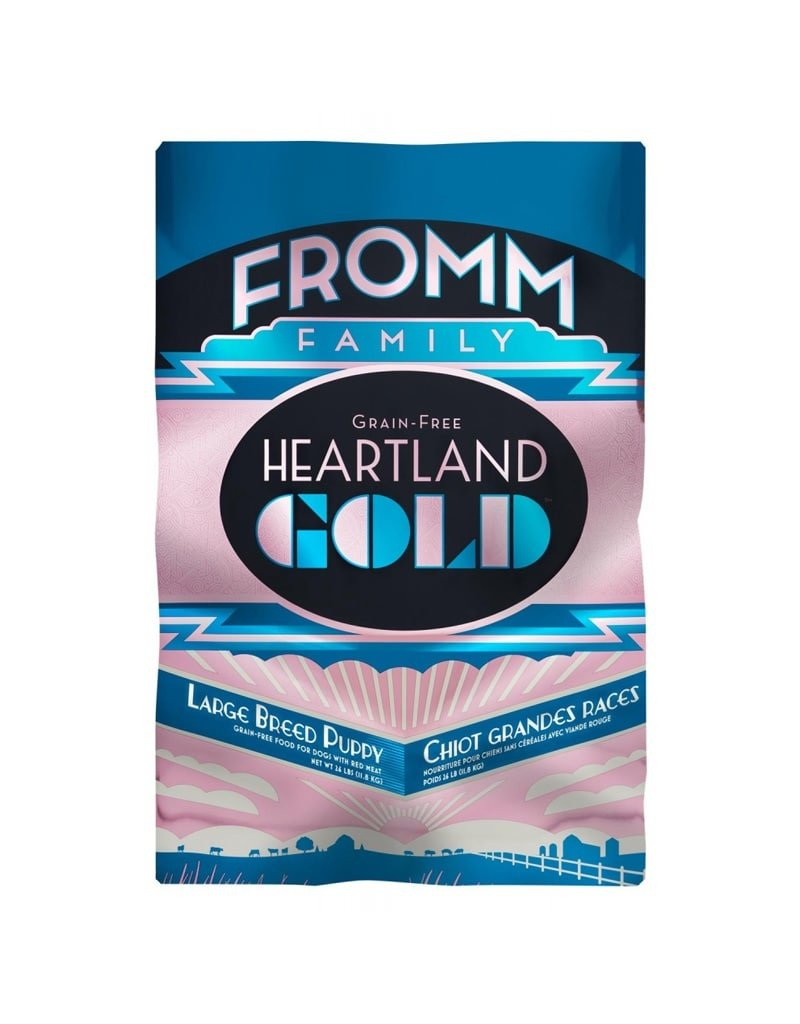 FROMM FAMILY FOODS LLC Fromm 26 Lb Dog lg Breed Puppy Prairie Gold GF EA