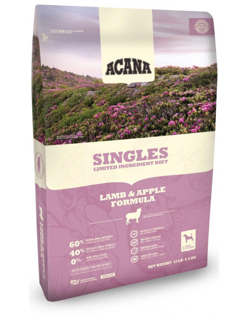 Acana AC Singles Lamb Dog 25#