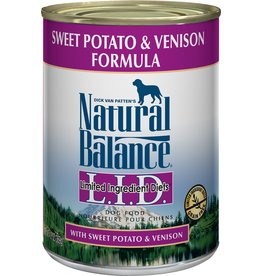 NATURAL BALANCE NB LID SWPT/VENS CAN 13oz
