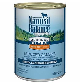 NATURAL BALANCE NB Dog Org Red Cal 13oz