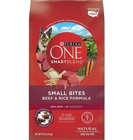 purina PURINA ONE 8LB. SMALL BITES BEEF/RICE