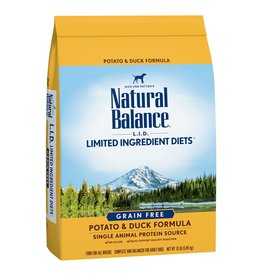 NATURAL BALANCE NB POTATO/DUCK 4.5LBS