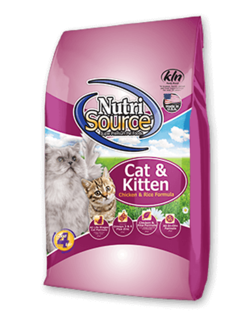 Nutrisource 6.6# NS CHICKEN/RICE CAT/KIT