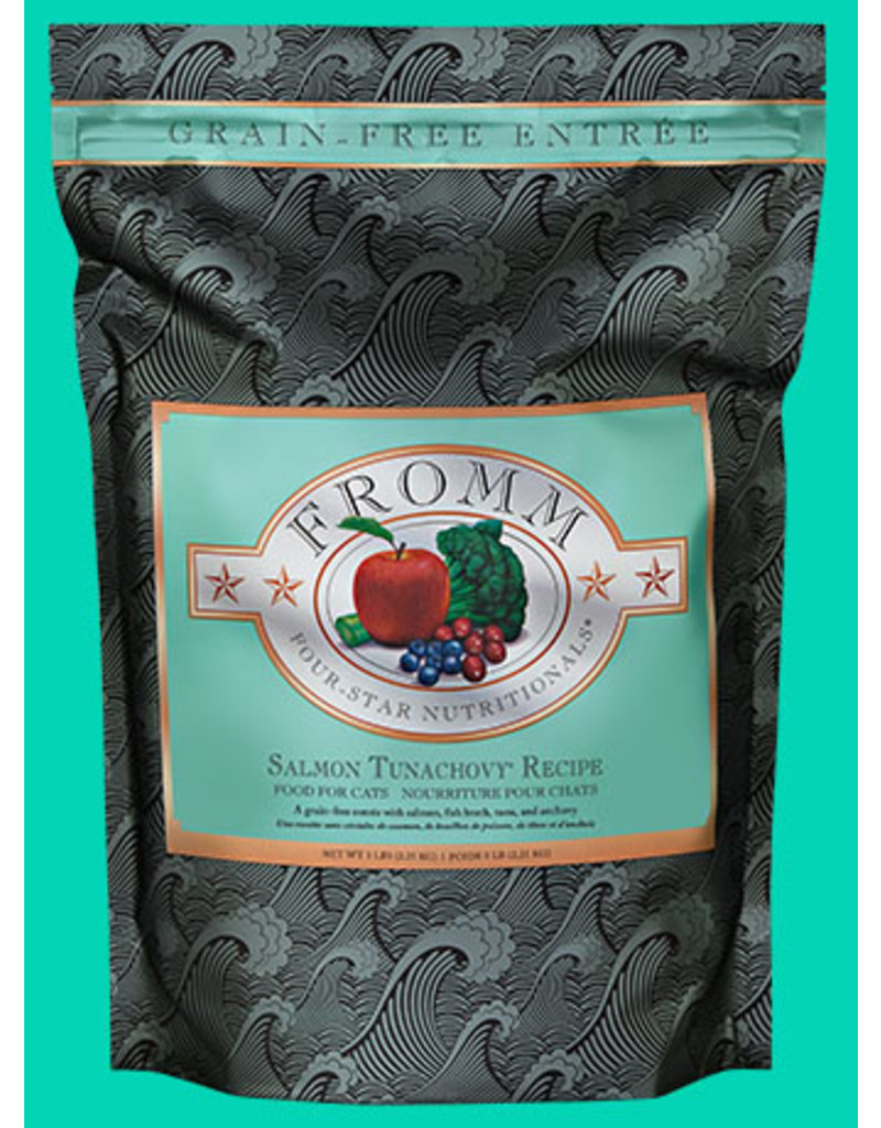 FROMM FAMILY FOODS LLC Fromm 2 LB Cat Salmon Tunachovy GF EA