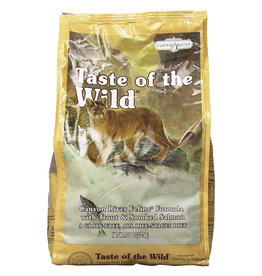 Taste of The Wild CANYON RIVER CAT FOOD 5# GRAIN-FREE