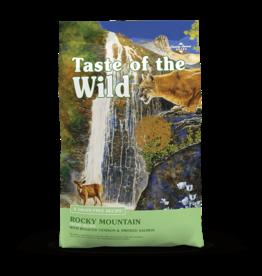 Taste of The Wild TOW 5 Lb Cat Rocky Mountain EA