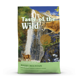 Taste of The Wild TOW ROCKY MOUNTAIN 5# CAT FOOD GRAIN FREE