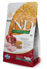 Farmina Farmina 3.3 Lb Adult Cat Dry Chicken Low Grain EA