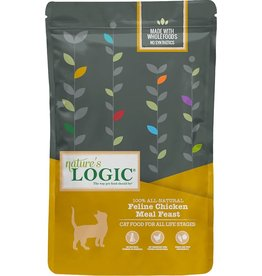 Nature's Logic NL 3.3 Lb Cat Dry Chicken Meal Feast EA