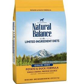 NATURAL BALANCE NB LID GF Potato/Duck 24lb