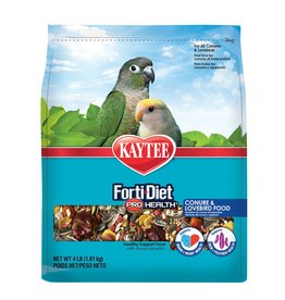KAYTEE PRODUCTS INC KT CONURE & LOVEBIRD FOOD 4#