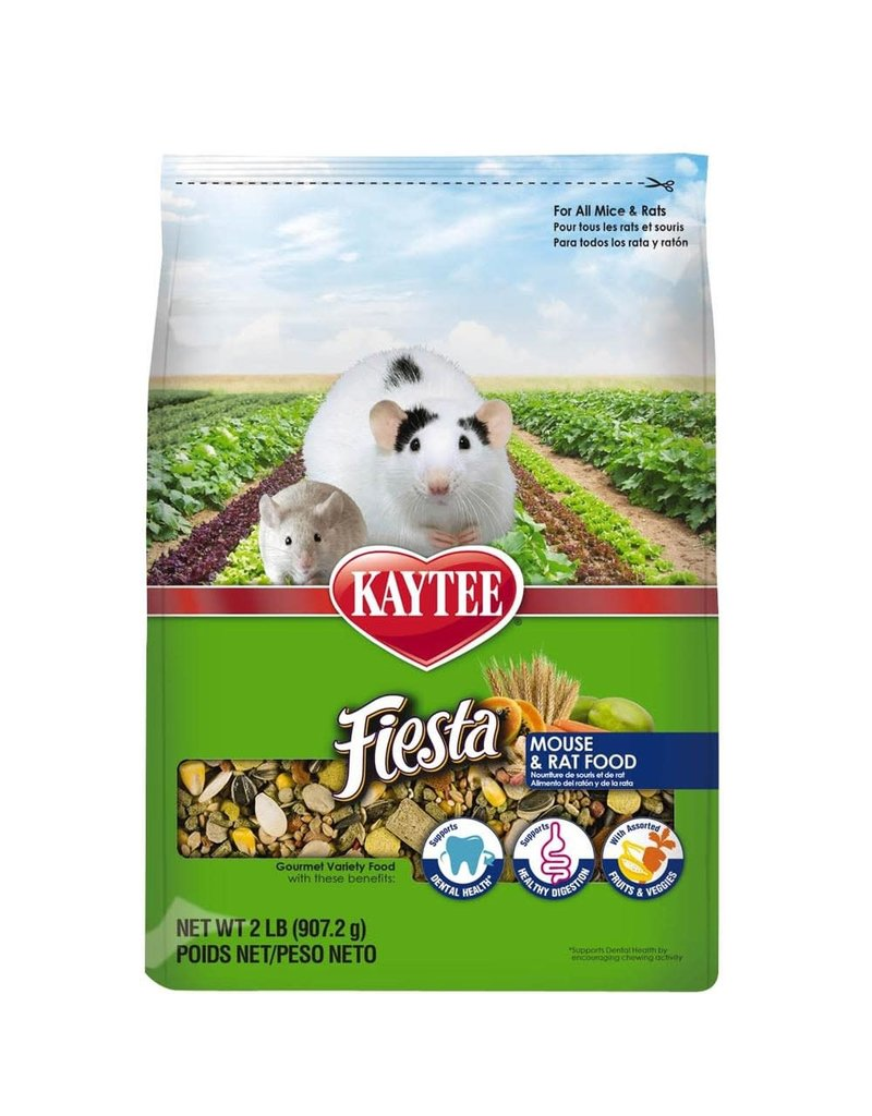 KAYTEE PRODUCTS INC FIESTA MOUSE & RAT 2#