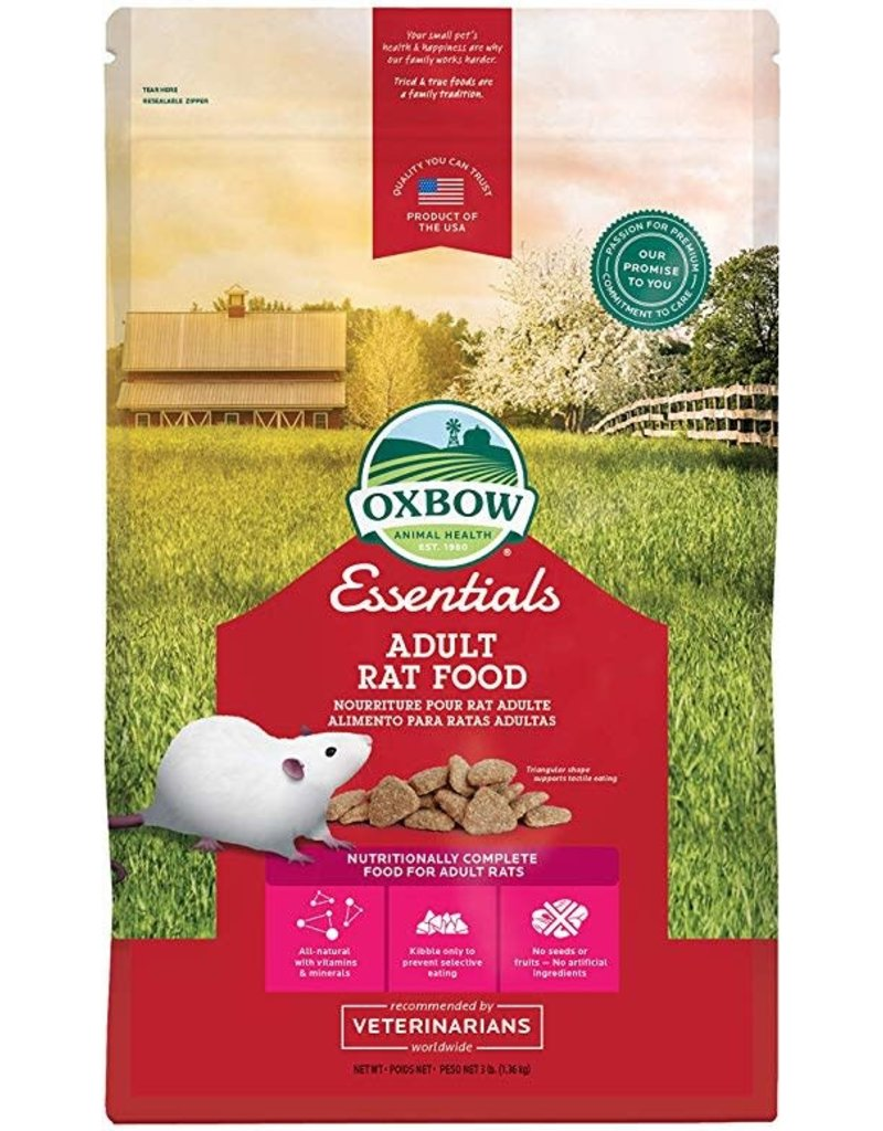 OXBOW PET PRODUCTS ADULT RAT REGAL RAT 3#