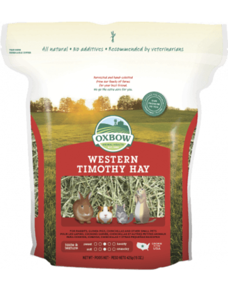 OXBOW PET PRODUCTS 15Z WESTERN TIMOTHY HAY