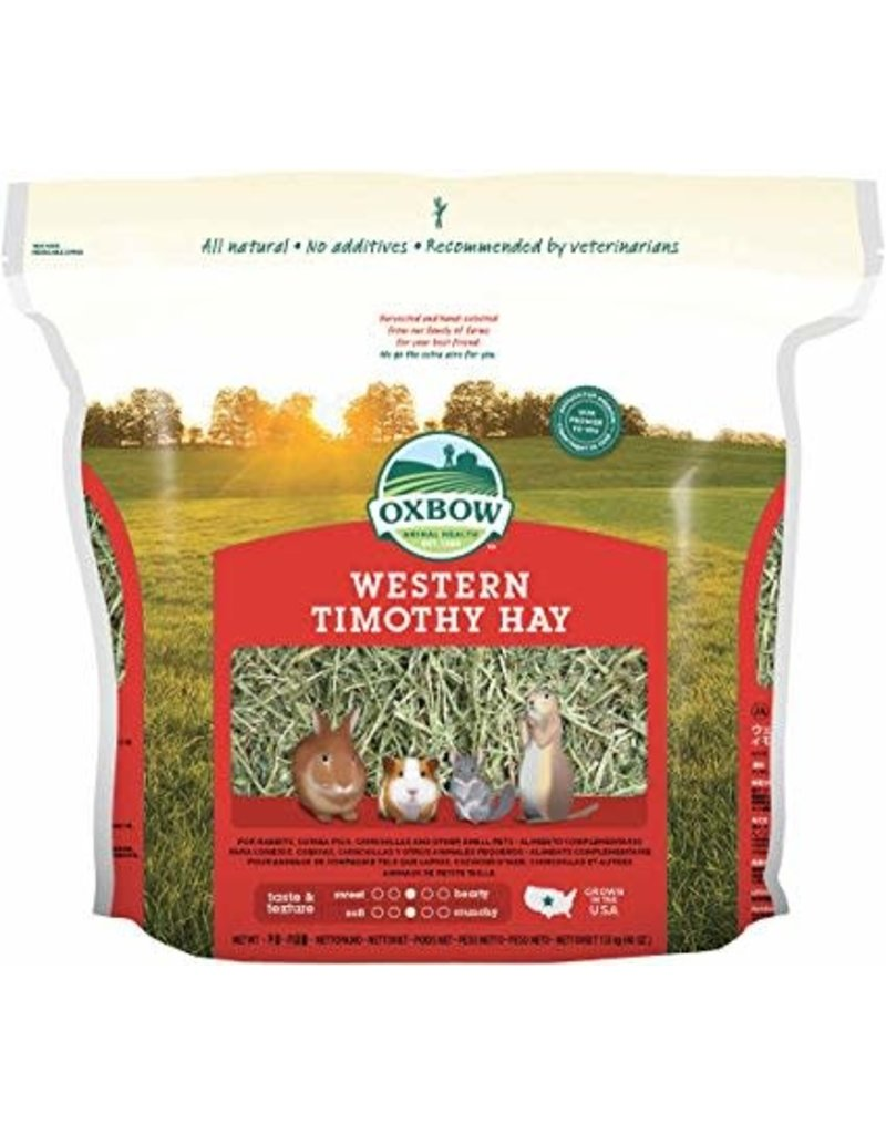 OXBOW PET PRODUCTS 40Z WESTERN TIMOTHY HAY