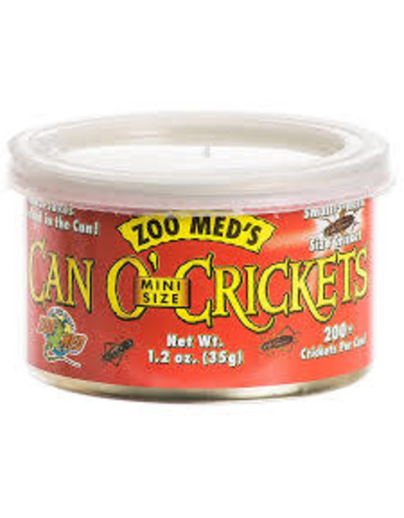 ZOO MED LABS CAN O MINI CRICKETS 1.2OZ
