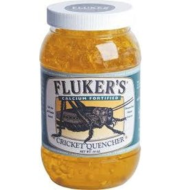FLUKERS CRICKET QUENCHER W/CALCIUM 16 Z