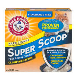 Arm & Hammer AH SUPERSCOOP LITTER UNSC 20LB