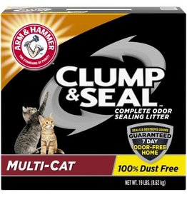 Arm & Hammer A&H CLUMP & SEAL MULTI-CAT 19#