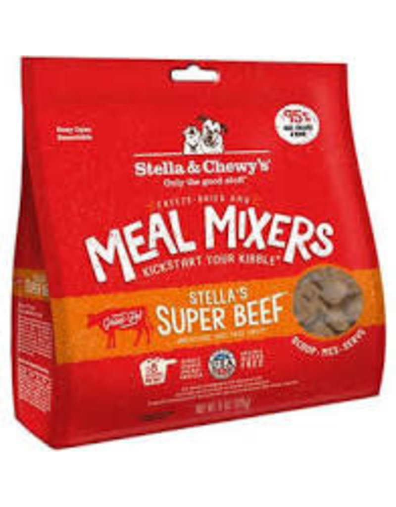 STELLA AND CHEWY'S 9OZ SUPER BEEF MEAL MIXERS