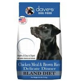 DAVE'S PET FOOD DAVES DELICATE DINNER CHICKEN 4lb DOG FOOD
