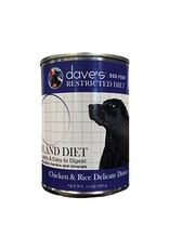 DAVE'S PET FOOD DAVE D RSTRC BLAND CKN 13.2OZ