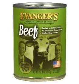 EVANGERS Evangers 13 oz Dog Can Classic 100 % Beef