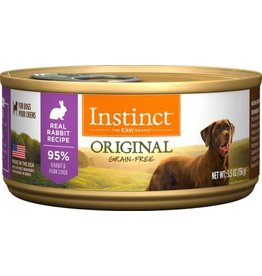 Natures Variety - Instinct NV INSTNCT CAN DOG RAB 5.5OZ