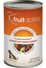 Fruitables Fruitable 15 oz Can Pumpkin Digestive Supplement 12/CS