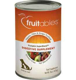 Fruitables Fruitable 15 oz Can Pumpkin Digestive Supplement