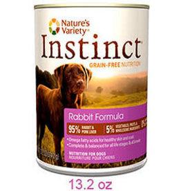 Natures Variety - Instinct NV INSTNCT CAN DOG RAB 13oz