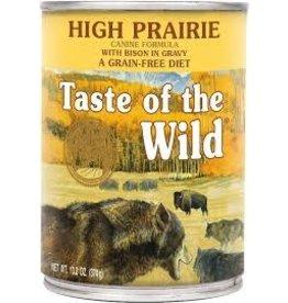 Taste of The Wild TOW  Dog Can High Prairie 13oz