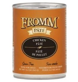 FROMM FAMILY FOODS LLC Fromm 12oz Dog Can Gold  Chicken Pate