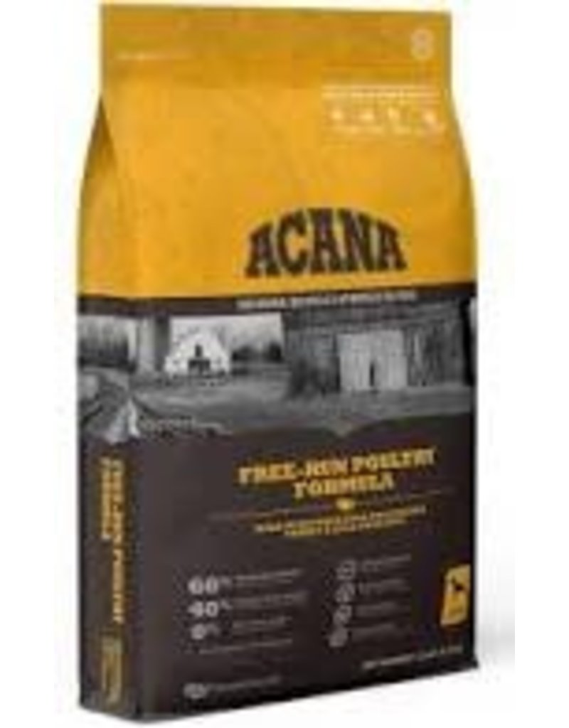 Acana AC FREE-RUN POULTRY DOG FOOD 25#