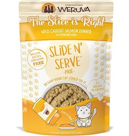 Weruva Weruva Cat Classic SnS Pouch GF Pate Salmon Slice is Right 2.8 oz