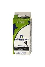 Answers pet food AS Answers Goat Milk Half Gal