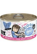 Weruva bff 3 oz Cat Can Tuna & Chicken  Chuckles 24/CS