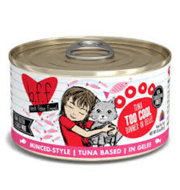 Weruva bff 3 oz Cat Can Tuna Too Cool  24/CS