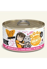 Weruva bff 3 oz Cat Can Tuna & Salmon  Soulmates 24/CS