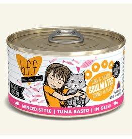 Weruva bff 3 oz Cat Can Tuna & Salmon  Soulmates 24/CS