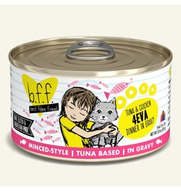 Weruva bff 3 oz Cat Can Tuna & Chicken  4 Eva 24/CS