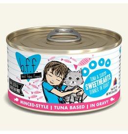 Weruva bff 3 oz Cat Can Tuna & Shrimp  Sweethearts 24/CS
