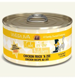 Weruva Weruva 3.2 oz Cat Can Chicken Frick A Zee CITK 24/CS
