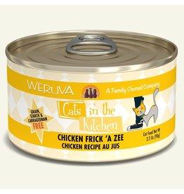 Weruva Weruva 3.2 oz Cat Can Chicken Frick A Zee CITK 24/CS