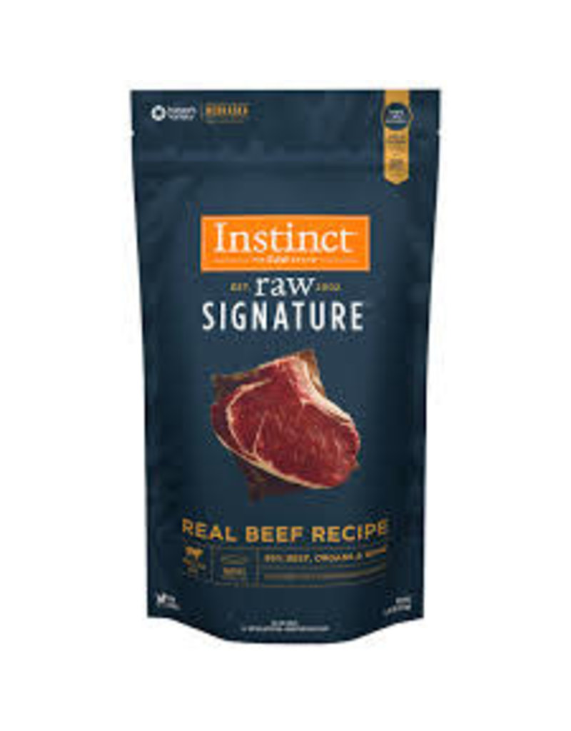 Natures Variety - Instinct 6# INSTINCT FROZEN RAW PATTY-BEEF