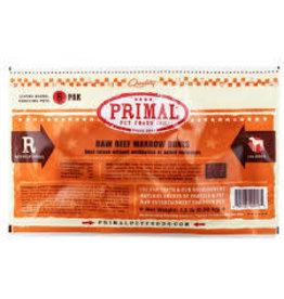 PRIMAL PET FOODS Primal raw beef marrow bones 6ct