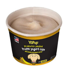 Yoghund Yopup Banana/PB Yogurt 1ct