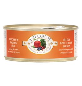 FROMM FAMILY FOODS LLC Fromm 5.5 oz Cat Can Chicken &  Salmon Pate