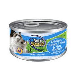 Nutrisource TUFP NTRSRC CHK/TURK/FISH 5.5z